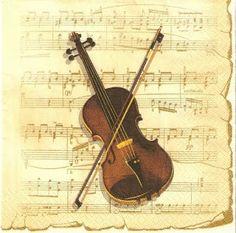 music decoupages