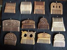 ifveniceissinking:  Viking combs. Despite some Mommy professor myths, the vikings were a very hygienic people. You would often find combs an...