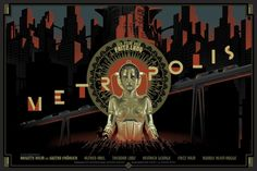 Metropolis Laurent Durieux Movie Poster Giveaway From Dark Hall Mansion Metropolis Film, Metropolis Poster, Metropolis Fritz Lang, Modern Metropolis, Metropolis Robot, 10 Film, Film Movie, Taschen Books, Michel Piccoli