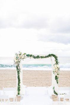 Elegant and Classy Malibu Winter Beach Wedding at The Sunset Restaurant
