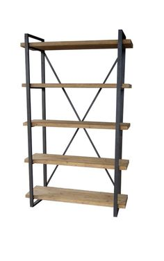 Lex 5 Level Shelf Natural - 8808856 | OfficeFurniture.com