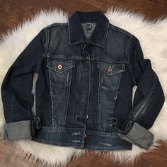 TRF ZARA distressed jean jacket Beautiful Jean jacket by Zara like new worn once Zara Jackets & Coats Jean Jackets