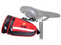 Bolsa para Selim de Bicicleta - Acte Sports com as melhores condições você encontra no Magazine 233435antonio. Confira!