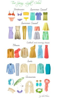 """""""True spring light colors"""" by sabira-amira on Polyvore"""