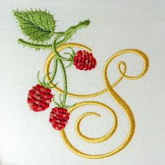 Wild Raspberries Alphabet- SPurchase