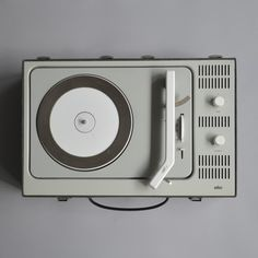 Dieter Rams, Braun portable record player PCV4, 1961