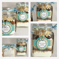 BenTiLotta Schönes aus Stoff, Wollfilz & Papier: Backmischung im Glas Hafer Schoko Cookies
