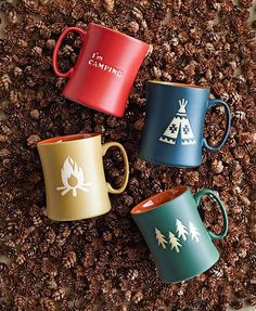 Walk in the Woods Dinnerware Camping Mugs