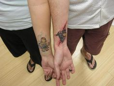 10 Cringeworthy Couple Tattoos #t4aw #blog #couple #tattoos #tattooidea #funny