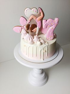 Art Birthday Cake, Birthday Cake Decorating, Birthday Cookies, Cookie Decorating, Cupcakes, Cake Cookies, Cupcake Cakes, Royal Icing Cakes, Fondant Cakes