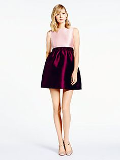 when we think of 1950s-era glamour, we immediately think of chic little cocktail dresses. introducing swift, a sophisticated colorblock design our designers dreamed up with effortless elegance in mind.-Kate Spade amazingness