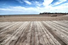 Toronto Beaches & Toronto Boardwalk photograph.