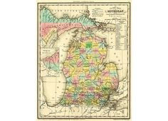 What's in a name? In this case, a peek at our state's rich, complicated history.How each county in Michigan got its name