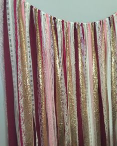 Burgundy Blush Pink Marsala & Gold Sparkle Sequin by ohMYcharley