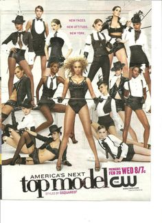 America's Next Top Model, Tyra Banks, Full Page Ad