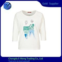Wholesale Cheap Price Short Sleeve Bulk Round Neck Woman T shirt  Best seller follow this link http://shopingayo.space