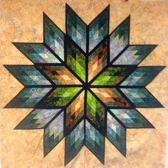 Prismatic Star, Quiltworx.com, Made by CS Sew Much Fun.