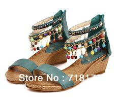 Discounts-2013 sell Bohemian Sandals women ladies beading summer sandals