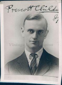 1927 Photo Prescott Childs US Vice Consul Canton Situation China Wire News Rare