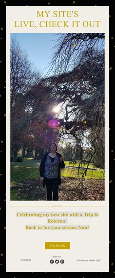 Celebrating my new site with a Trip to Rotorua Book in for your session Now! I Site, News Sites, Check It Out, Homes, Live, Celebrities, Book, Houses, Celebs