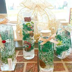 クリスマス ハーバリウム レッスン 販売 | 浦和美園の花屋オリオンは観葉植物レンタル Bottles, Bouquet, Bloom, Table Decorations, Flowers, Christmas, Crafts, Beautiful, Home Decor