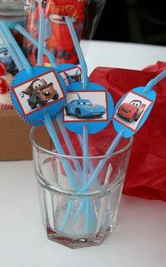 Decoración, fiestas y manualidades varias. Rebeca Terrón: Cumple de Cars, nos vamos a las carreras!!!
