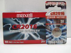 BATTERIA MAXELL CR 2016 BLISTER 1 PZ