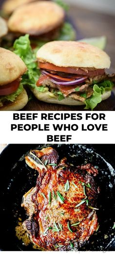 Beef it's what for dinner is a phase that most of us grew up with. Here are some mouthwatering recipes to help you get dinner on that table in no time at all.  #beef #recipes #dinner