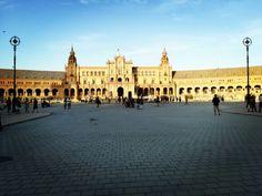 Sevilha, Espanha #sevilha #plaza #espanha #city