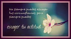 Una actitud positiva hace que todo mejore... www.yvolveraempezar.com #yvolveraempezar porque #nuncaestarde