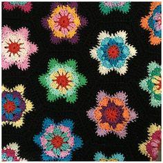 Nalia Faye Hexagon Crochet motif