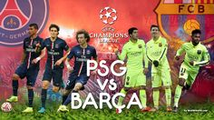 PSG vs Barcelona Barcelona Champions League, Live Soccer, Uefa Champions, Sporting Live, Live In The Now, Psg, Sport Watches, Baseball Cards, Finals