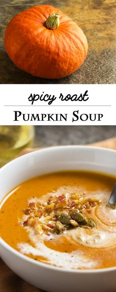 roast pumpkin soup spanish style this creamy spicy roast pumpkin soup ...