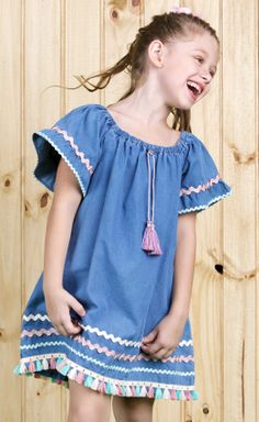 Cute Girl Outfits, Toddler Girl Outfits, Kids Outfits, Kids Frocks, Frocks For Girls, Kids Summer Dresses, Kids Dress Wear, Vintage Girls Dresses, Stylish Dress Designs