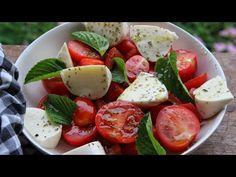 Καλοκαιρινή Σαλάτα Caprese #MageireuoumeMazi - Caprese Salad - YouTube Caprese Salad, Youtube, Food, Meal, Essen, Hoods, Meals, Insalata Caprese, Youtube Movies