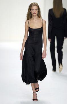 Natalia Vodianova at Calvin Klein, Spring/Summer 2003