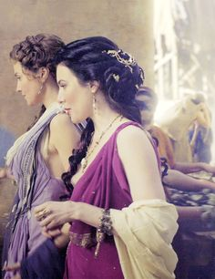 jaime murray as gaia ~ spartacus: gods of the arena