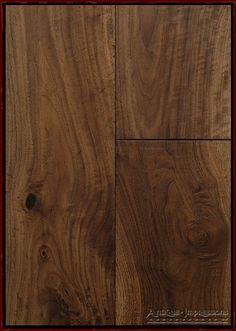 Walnut Hardwood Floors - American Black Walnut Flooring by Antique Impressions Canada