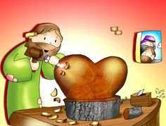 Jesús; nuestro carpintero talla su amor en nuestros corazones