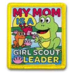 Mother's Day is right around the corner! Snag this patch for your Mom/Leader.