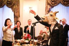 パレスいわや 乾杯挨拶はキリンさんです。