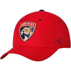 Florida Panthers Zephyr DH Crosscheck Hat - Red