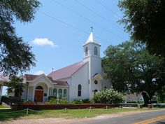 Melrose, LA St Augustine Catholic Church by army.arch, via Flickr