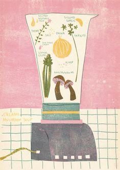 Barbara Dziadosz - Creamy Mushroom Soup