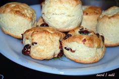 scones+nature+et+cranberries