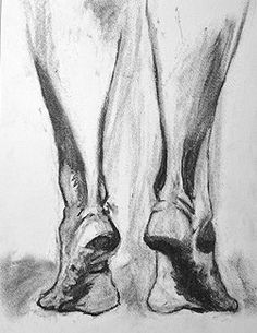Original Figurative Charcoal Drawing by Jeff Eiswerth on Etsy. Check it out @west elm