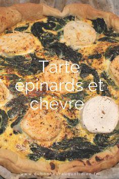 Il va s'en dire que la majorité des enfants ne raffolent pas de ce légume vert. Je vous l'accorde, ça ne ressemble pas à grand chose, juste de longues feuilles qui rétrécissent beaucoup à la cuisson. Chez nous, ce n'est pas non plus le légume star. Pour cette recette, j'ai revisité ce légume en tarte avec un fromage que j'aime beaucoup, le chèvre. Je vous laisse découvrir la recette ! Dire, Healthy, Savoury Tarts, Leaves, Cheese