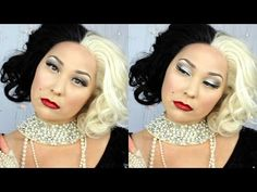 Cruella de Vil Halloween Transformation Tutorial | Phoenix Cosmetics - YouTube