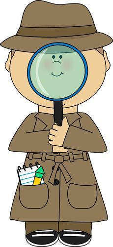 find the clue clipart | ... Looking for Clues Clip Art ...