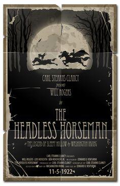 The Headless Horseman-1922 by 4gottenlore on deviantART